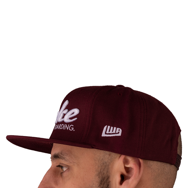 Yupoong FLEXFIT Classic Snapback wakeboarding red/white